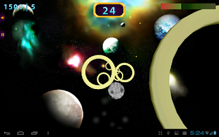 Screenshot of Space Rings 3D