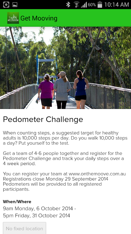 Get Mooving Greater Shepparton- screenshot