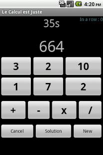 Le Calcul est Juste - screenshot thumbnail