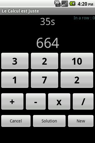 Le Calcul est Juste - screenshot