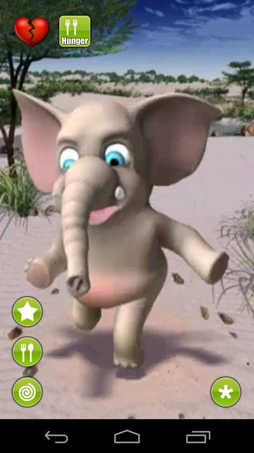 Talking Lolo Elephant - screenshot