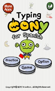 [B]TypingCONy for Spanish- screenshot thumbnail