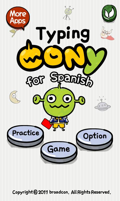 [B]TypingCONy for Spanish- screenshot