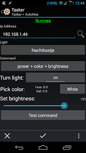 AutoHue (Tasker Plug-in)- screenshot thumbnail