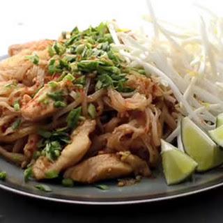 Thai Pad Thai Noodles.