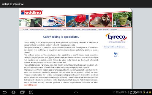 edding by Lyreco CZ