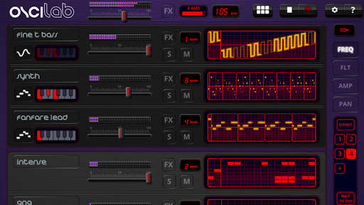 Oscilab - Step Sequencer