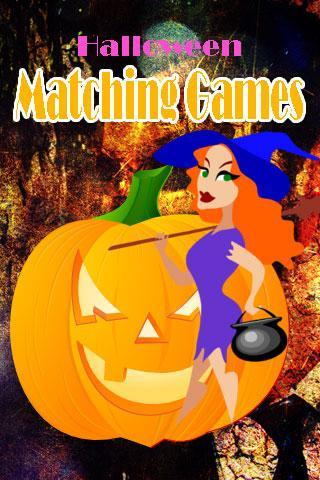 Halloween Matching Games