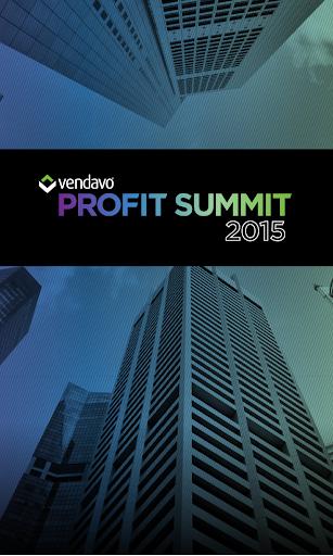 Vendavo Profit Summit.