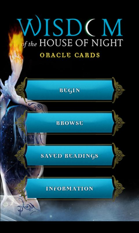 House of Night Oracle Cards - screenshot