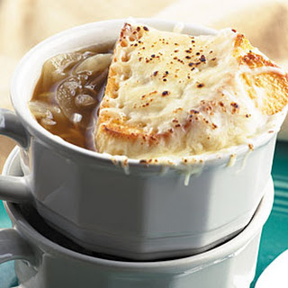 Classic French Onion Soup.