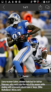 MLive.com: Detroit Lions News- screenshot thumbnail
