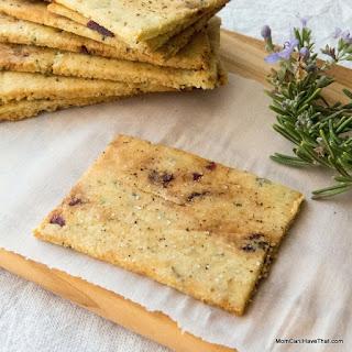 Rosemary Raisin Crackers.