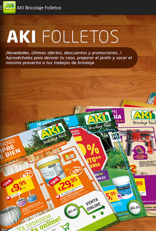 AKI Bricolaje Folletos- screenshot
