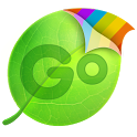 GO Keyboard Purple Future them icon