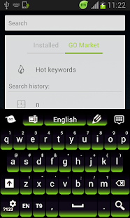 Green Keypad for Android - screenshot thumbnail