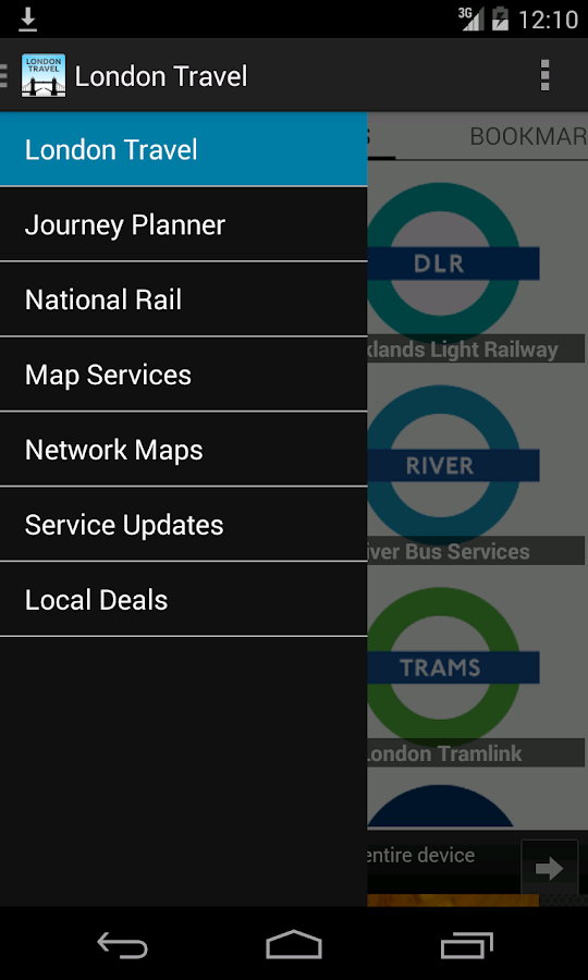 London Travel- screenshot