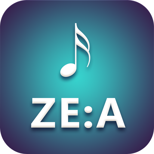 ZE:A Lyrics LOGO-APP點子
