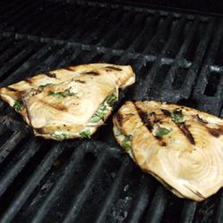 Grilled Stuffed Swordfish Recipe