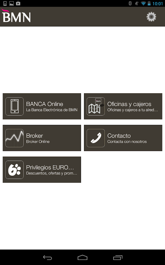 BMN Banca Online- screenshot