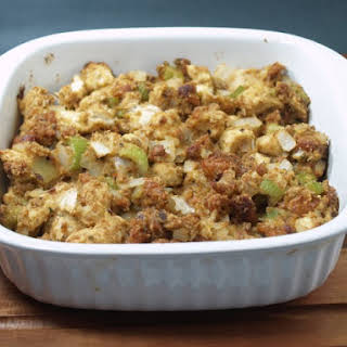 Mama Losasso's Hot Italian Sausage Stuffing.