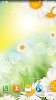 Screenshot of Daisies Live Wallpaper