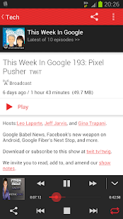 Player FM - Podcast and Sync - screenshot thumbnail
