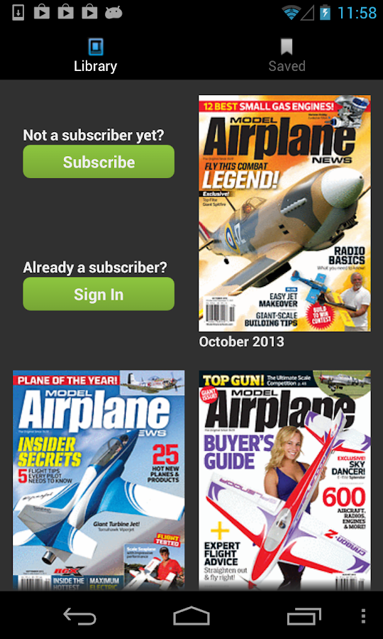 Model Airplane News - screenshot