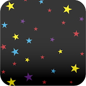 colorful star wallpaper