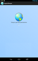 Screenshot of Region Changer