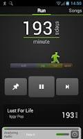 Screenshot of DjRun: Running with Music