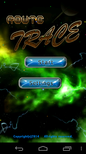 Memory Route Tracer Game