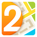 2GIS: map & directory icon