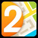 2GIS Santiago, mapa+directorio icon