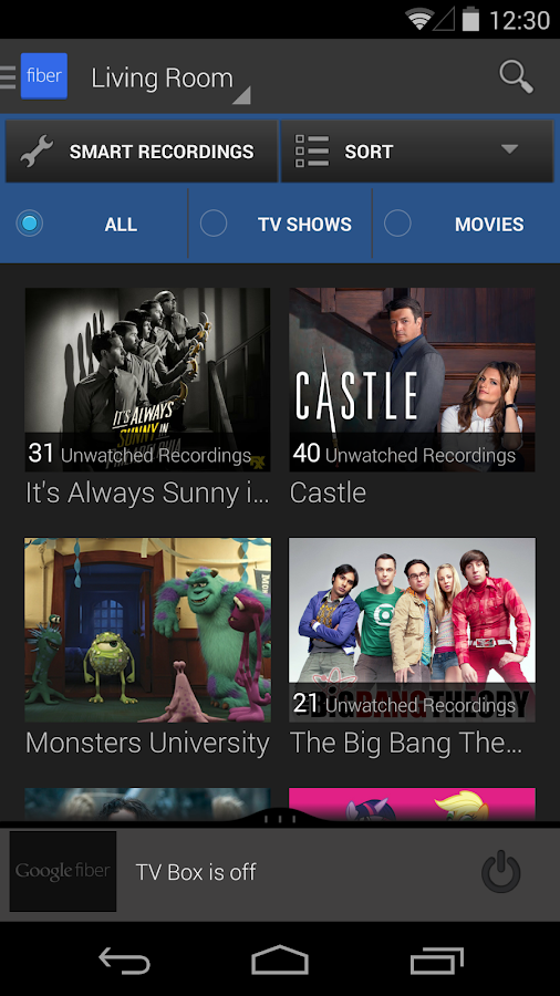 Fiber TV- screenshot