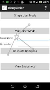 Triangulation screenshot