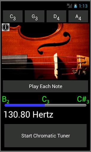Easy Viola - Viola Tuner