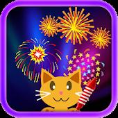 QCat -Toddler Fireworks (free)