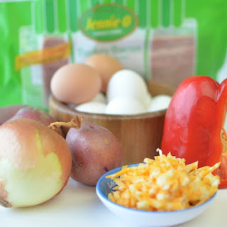 Personal Veggie Frittatas {Gluten Free!}.
