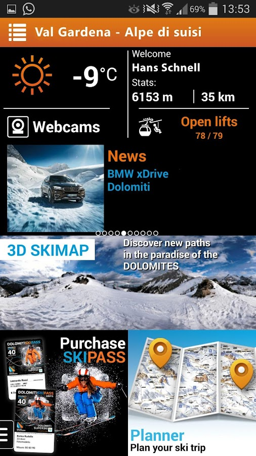 3D Superski- screenshot