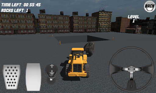 Bulldozer Driving 3D