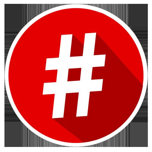 Hashtags Magazine LOGO-APP點子