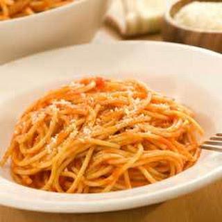 Easy One-step Spaghetti .
