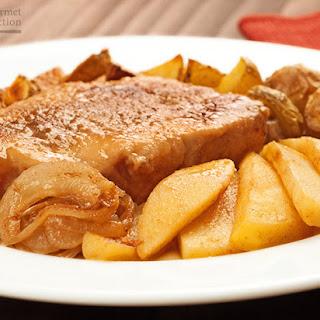 Cider-Glazed Pork Chops with Apples