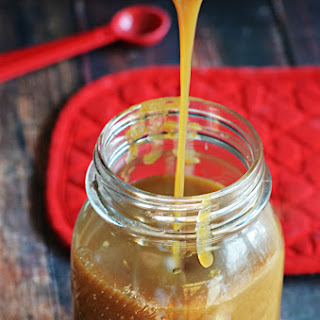 Easy Salted Caramel Sauce.