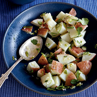 Lemongrass and Ginger Potato Salad