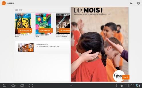 Dix mois d'école et d'Opéra - screenshot thumbnail