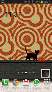 Animated Cat Live Wallpaper - screenshot thumbnail