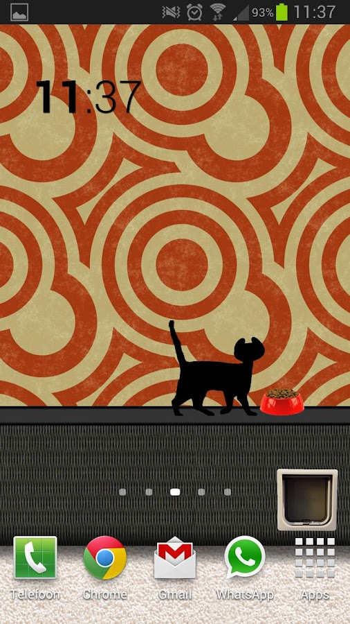 Animated Cat Live Wallpaper - screenshot