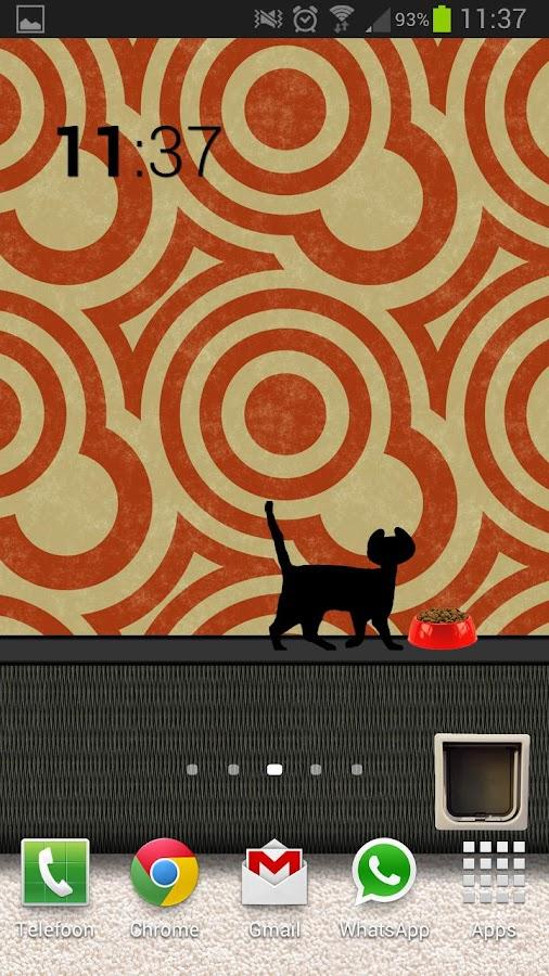 Animated Cat Live Wallpaper - screenshot